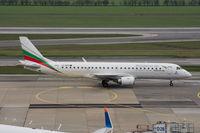 LZ-BUR @ LOWW - Embraer Jet 190 Bulgarian Airways - by Klaus Zisser