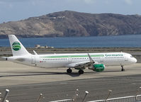 HB-JOI @ LPA - Taxi to the runway of Las Palmas Airport - by Willem Göebel