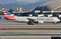 N787AL @ KLAX - American B772 taxying to its gate. - by FerryPNL