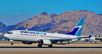 C-FKWJ @ KLAS - C-FKWJ WestJet 2010 Boeing 737-8CT - cn 36435 / 3469 - Las Vegas - McCarran International Airport (LAS / KLAS)