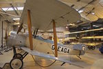 G-EAGA @ EGTH - 1990 Sopwith Dove Replica, c/n: 3004/1 in the Shuttleworth Collection