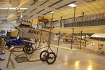 G-ARSG @ EGTH - 1964 Avro Roe Triplane Type IV replica, in the Shuttleworth Collection
