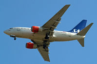 LN-RRZ @ EGLL - Boeing 737-683 [28295] (SAS Scandinavian Airlines) Home~G 15/05/2010. On approach 27R. - by Ray Barber