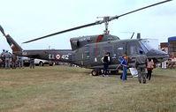 MM81128 @ EGVI - Agusta-Bell AB.212 [5648] (Italian Army) RAF Greenham Common~G 23/07/1983. From a slide.