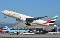 A6-EFI @ KLAX - Emirates B772F departing LAX - by FerryPNL
