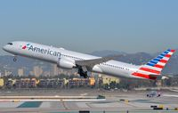 N821AN @ KLAX - American B789 lifting-off from LAX. - by FerryPNL
