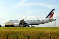 F-GKXK @ LFPG - Airbus A320-214 [2140] (Air France) Paris-Charles De Gaulle~F 24/06/2011