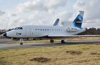 M-VGAL @ EGHH - Taxiing on arrival - by John Coates
