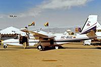 HC-BUD @ KLAS - Rockwell Turbo Commander 690C Jetprop 840 [11669] Las Vegas-McCarran Int'l~N 19/10/1998