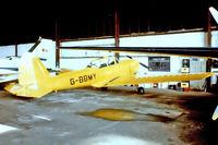 G-BBMY @ EGTR - De Havilland Canada DHC.1 Chipmunk 22 [C1/0584] Elstree~G 10/04/1979. From a slide.