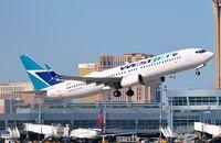 C-FWJS @ KLAS - Westjet B738 departing. - by FerryPNL