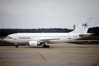 DDR-ABA @ EDDK - Airbuas A310-304 - IF IFL Interflug - DDR-ABA 08.04.1990 - CGN - by Ralf Winter