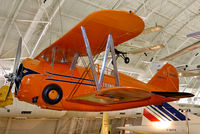 NR1050 @ KIAD - On display in the Boeing Aviation Hangar room at the Steven F. Udvar-Hazy Center. This Gulfhawk flown by Maj. Alfred Williams was fully aerobatic and capable of inverted flight for up to half an hour. Maj. Williams flew this aircraft at many airshows.