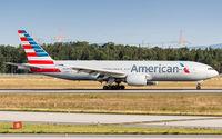 N784AN @ EDDF - decelerating after touchdown on runway 07L