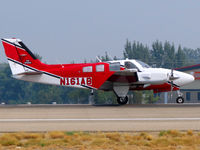 N161AB @ KBOI - Fire attack aircraft departing RWY 10R. - by Gerald Howard