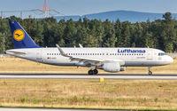 D-AIZZ @ EDDF - decelerating after touchdown on runway 07L - by Friedrich Becker