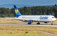 D-ABUE @ EDDF - decelerating after touchdown on runway 07L - by Friedrich Becker