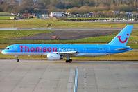 G-BYAX @ EGBB - Boeing 757-204 [28834] (ThomsonFly) Birmingham Int'l~G 12/01/2005 - by Ray Barber