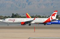 C-FJQL @ KLAS - Rouge A321 departing. - by FerryPNL