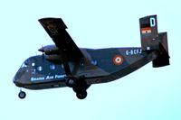 G-BCFJ @ EGLF - Short SC-7-3M-400 Skyvan [SH1931] (Short Bros Ltd/Ghana Air Force) Farnborough~G 08/09/1974. From a slide.