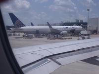 N676UA @ IAH - United Boeing 767-322 - by Christian Maurer
