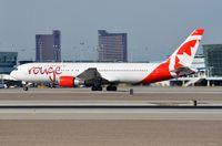 C-GHLA @ KLAS - Rouge B763 departure - by FerryPNL