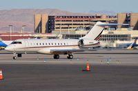 N141QS @ KLAS - Netjets BD700 arrived in LAS - by FerryPNL