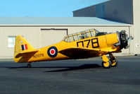 ZK-ENG @ NZAR - North American AT-6D Harvard III [88-15873] Auckland-Ardmore~ZK 26/09/2004