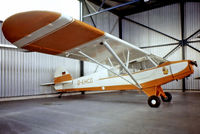 D-EHCD @ EDLN - Piper L-18C-95 Super Cub  [18-3137] Monchengladbach~D  12/05/1978. From a slide. - by Ray Barber
