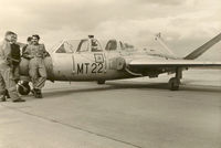 MT-22 @ EBKT - Wevelgem Airshow in 1963. MT-22 crashed on 1967-05-24. - by A.De Craene