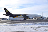 N140UP @ KBOI - Parked on UPS ramp. - by Gerald Howard