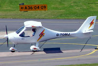 G-TOMJ @ EGBJ - Flight Design CT-2K [03.01.04.14] Staverton~G 07/08/2005