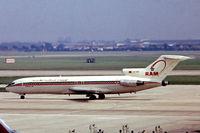 CN-RMP @ EGLL - Boeing 727-2B6 [21298] (Royal Air Maroc) Heathrow~G 23/05/1978. From a slide. - by Ray Barber