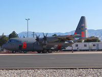 92-1453 @ KBOI - Parked on the NIFC ramp. MAFFS #8. 145th Airlift Wing, NC ANG. - by Gerald Howard
