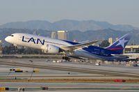 CC-BBI @ KLAX - LAN B788 is heading south. - by FerryPNL