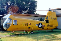 128596 @ KNZJ - Piasecki UH-25B Retriever [Bu128596] (Flying Leatherneck Air Museum) El Toro MCAS~N 12/10/1998
