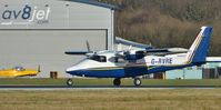 G-RVRE @ EGHH - Setting off on another survey - by John Coates