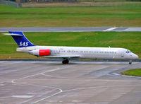 LN-RMP @ EGBB - McDonnell Douglas DC-9-87 (MD87) [53337] (SAS Scandinavian Airlines) Birmingham Int'l~G 09/02/2005 - by Ray Barber