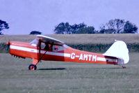 G-AMTM @ EGBG - Auster J/1 [3101] Leicester 08/07/1979. From a slide.
