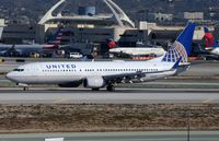 N14219 @ KLAX - United B738 arrived. - by FerryPNL