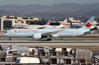 C-FNOI @ KLAX - Air Canada B789 vacating the runway. - by FerryPNL