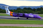 G-JEDT @ EGCC - flybe - by Chris Hall