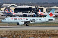 C-GJVT @ KLAX - Air Canada A320 vacating the runway. - by FerryPNL