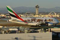 A6-EEQ @ KLAX - Emirated Wildlife A388 - by FerryPNL