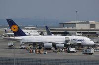 D-AIMA @ KSFO - Airbus A380-841 - by Mark Pasqualino