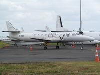 ZK-POF @ NZAA - stored on convair apron - by magnaman