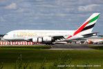 A6-EDU @ EGCC - Emirates - by Chris Hall