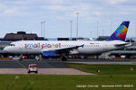 LY-SPD @ EGCC - Small Planet Airlines - by Chris Hall