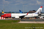LN-NOT @ EGCC - Norwegian Air Shuttle - by Chris Hall