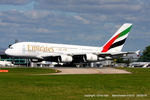 A6-EDU @ EGCC - Emirates - by Chris Hall